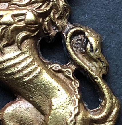 First Pattern Regimental Headdress Badges - Genuine versus a Copy