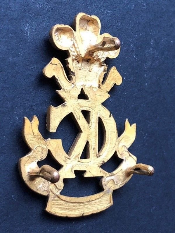 Second Pattern Regimental Officer's Headdress Badge - Genuine