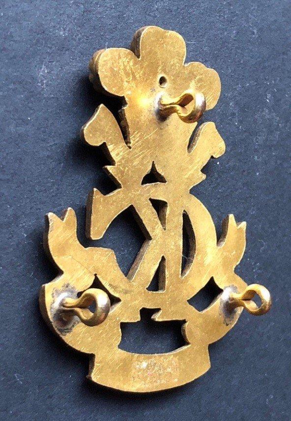 Second Pattern Regimental Officer's Headdress Badge - Additional Genuine Example
