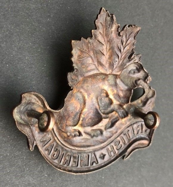British American Squadron Other Ranks' Headdress Badge - Copy