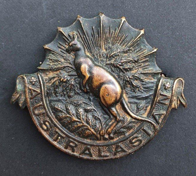 Australasian Squadron Other Ranks' Headdress Badge - Additional Copy