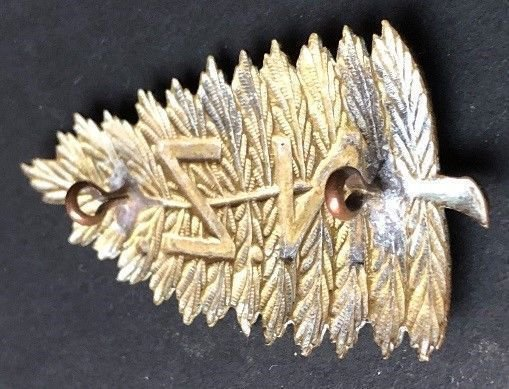 New Zealand Other Ranks' Headdress Badge - Genuine