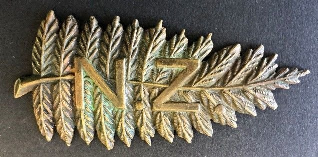 New Zealand Other Ranks' Headdress Badge - Copy