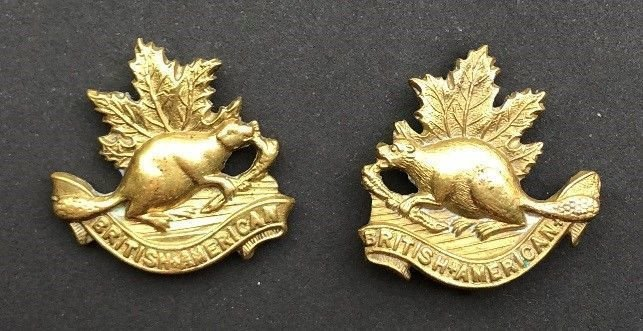 'B' Squadron Collar Badges