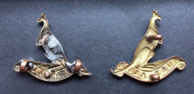 'C' Squadron Collar Badges