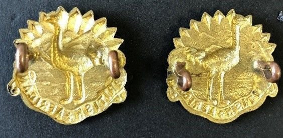 'D' Squadron Collar Badges
