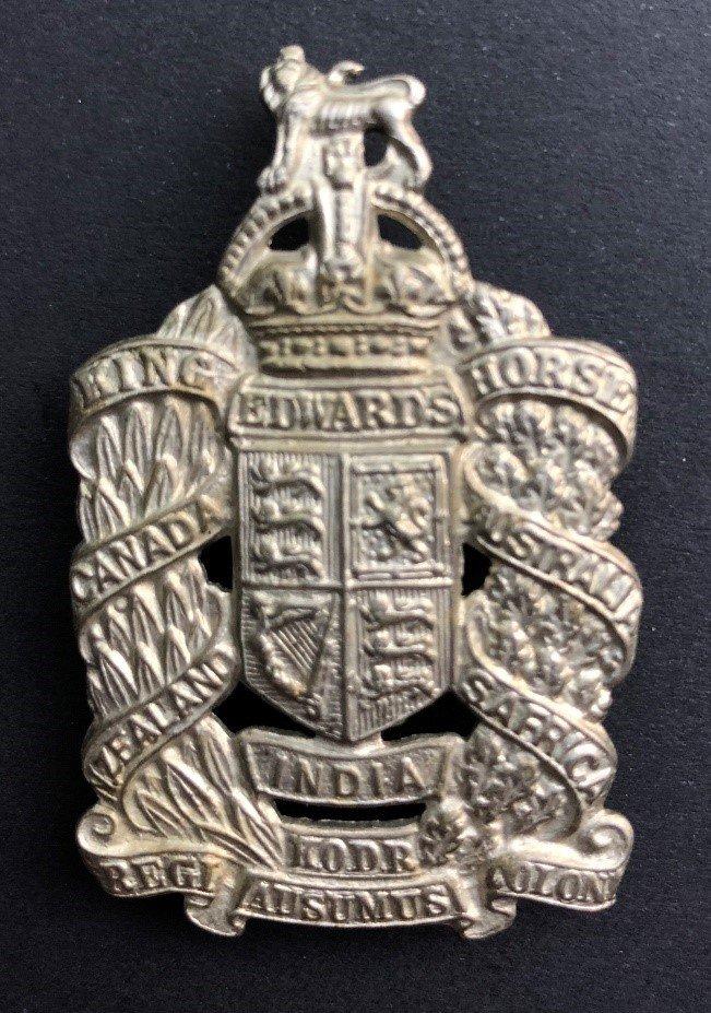 King Edward's Horse - Copy Headdress Badges