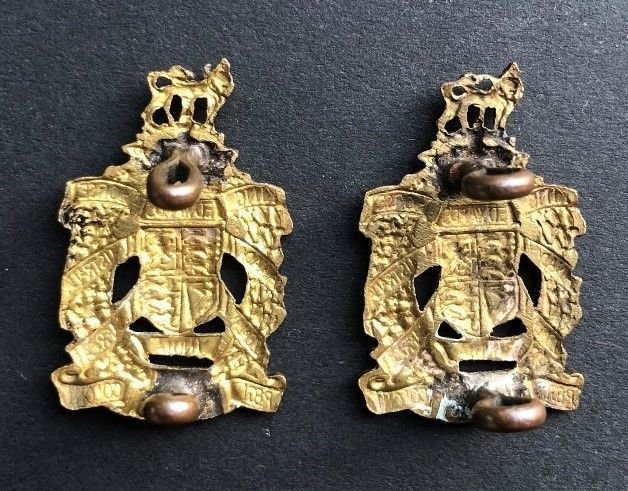 First Pattern Other Ranks' Collar Badges