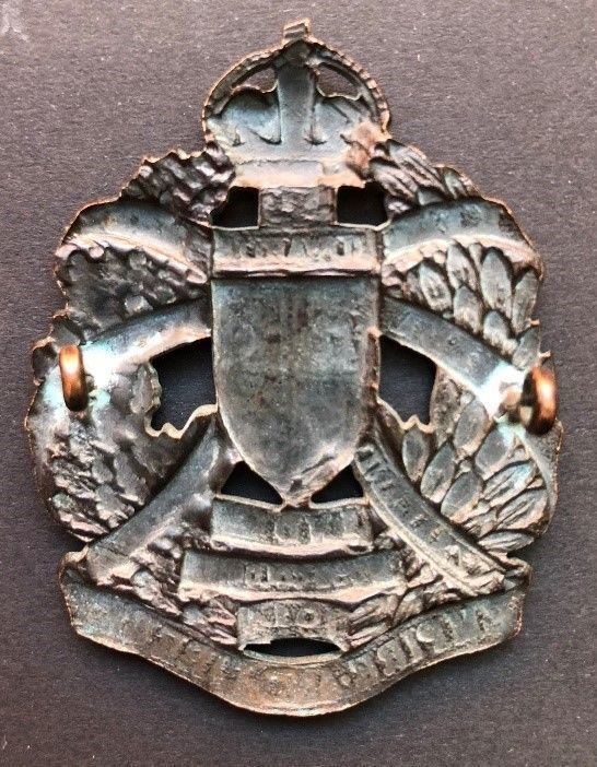 Additional Officer's Headdress Badge