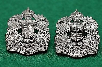 Voided Officer's Collar Badges
