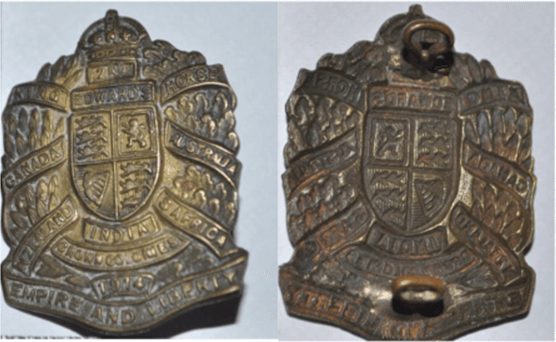 Non-Voided Officer's Collar Badges