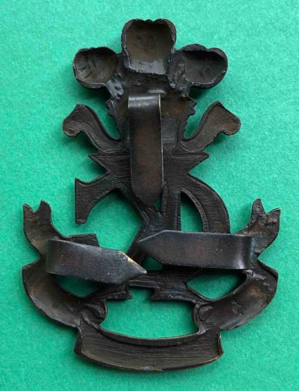 Second Pattern Regimental Officer's Service Dress Headdress Badge - Genuine
