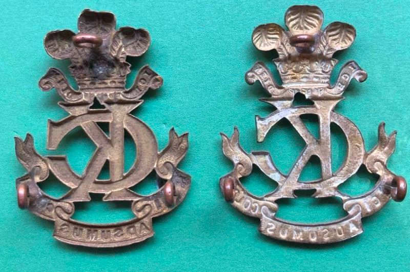 Second Pattern Regimental Other Ranks' Headdress Badge - Genuine