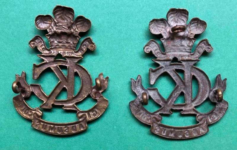 Second Pattern Regimental Other Ranks' Headdress Badge -  Copies