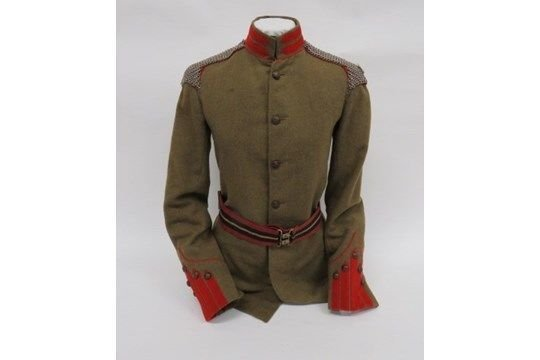 King Edward's Horse Officer's Full Dress Uniform 1910-14