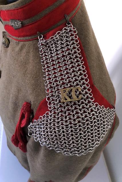 KC Full Dress Tunic Detail