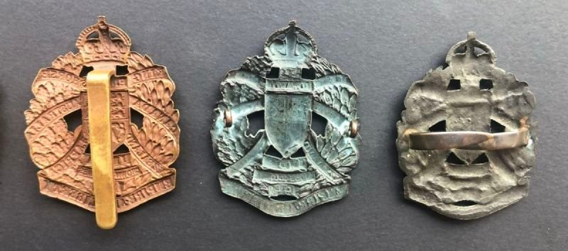 Headdress Badges - Sealed Pattern and Officers