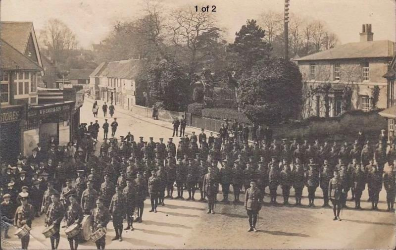 Bulford 1913 & Canterbury 1914