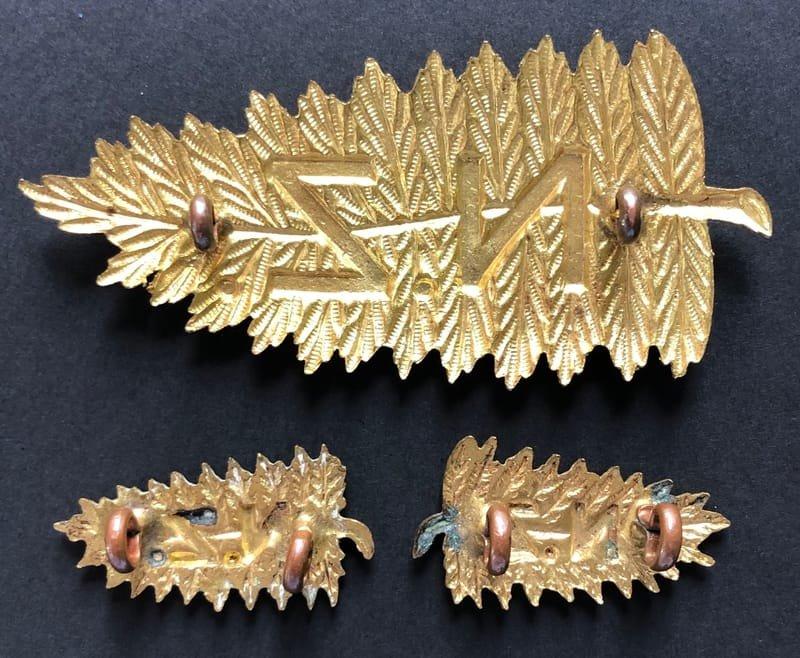 New Zealand Headdress & Collar Badges