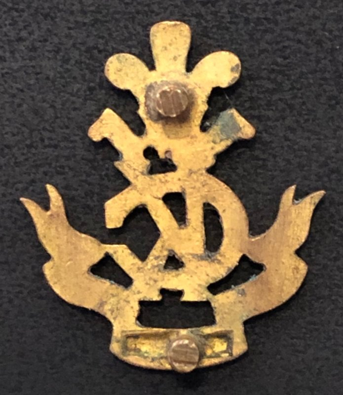 Officer's Pouch Badge & 'KC' Cypher Badge