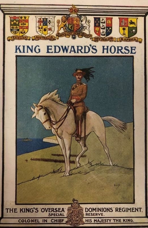 King's Colonials/King Edward's Horse 1910-12