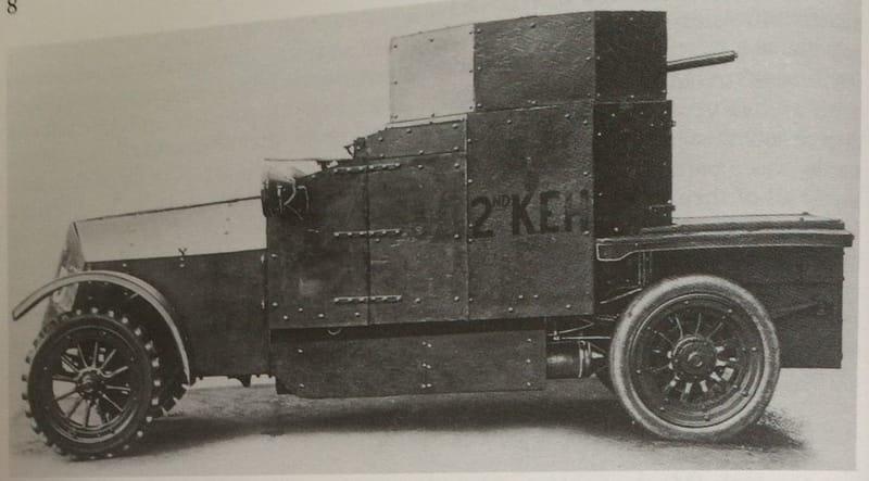 2nd King Edward's Horse  1914-17