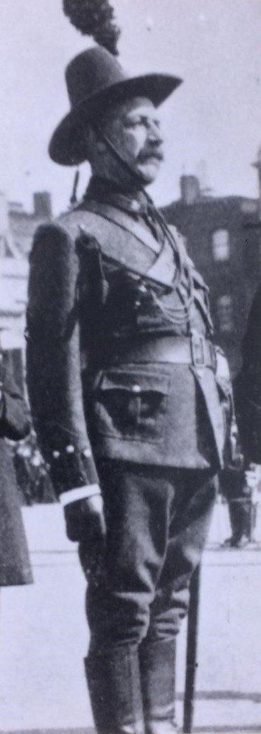 Kings Colonials (KC) Officer's Full Dress Uniform 1901-04