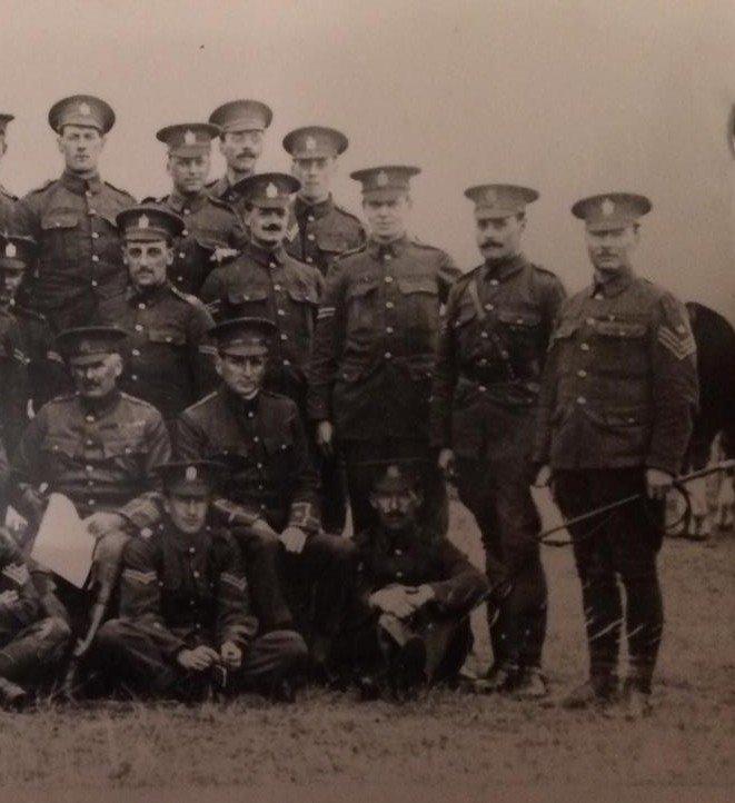 Churn Camp 1907-08, Pond Farm 1909 and Shorncliffe 1910