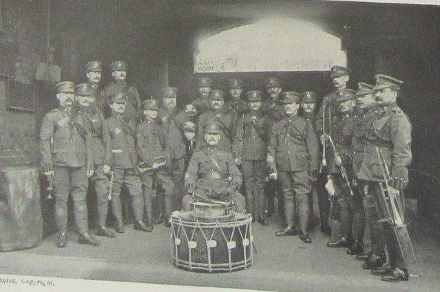 King's Colonials Bandsman's Uniform 1901-10