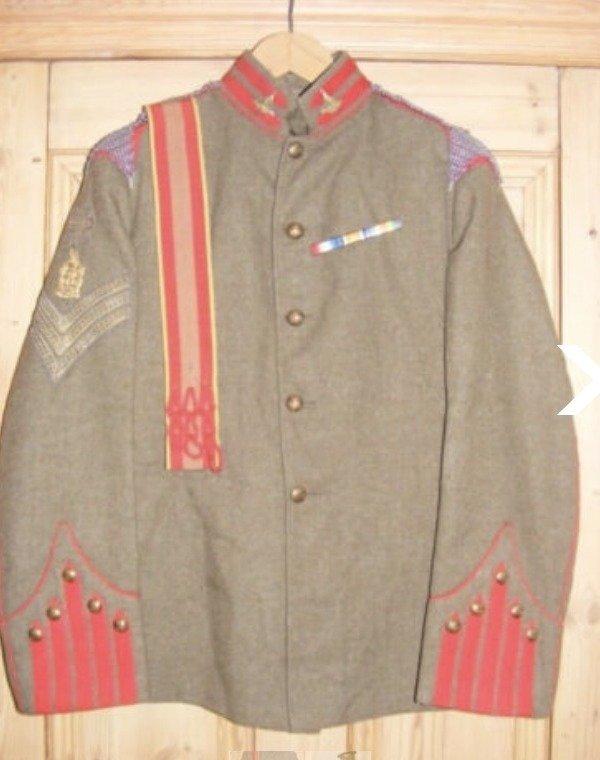 King's Edward's Horse Undress Uniform 1910-14