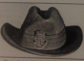 Second Pattern Regimental Officer's Bullion Headdress Badge