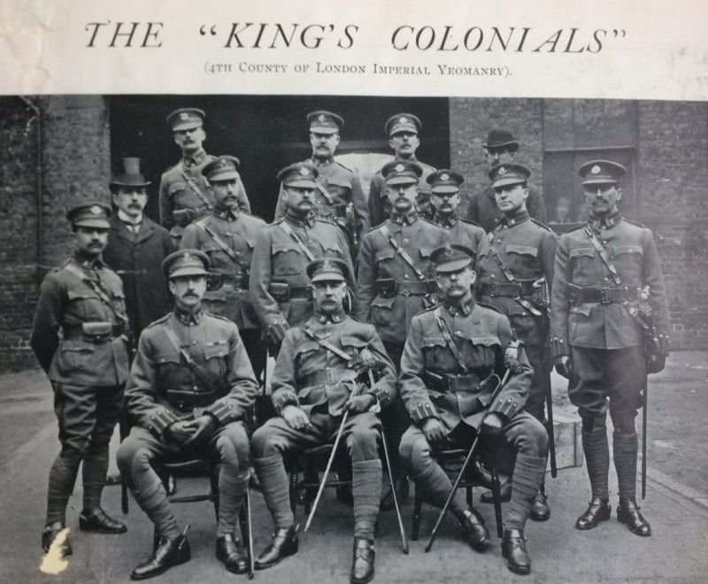 King's Colonials Officer's Nominal Rolls 1902, 1905 & 1910
