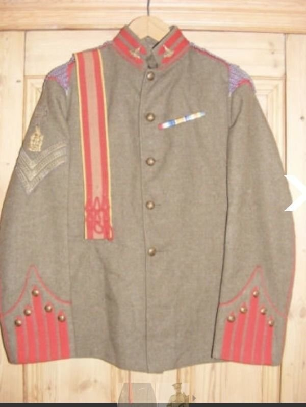 King Edward's Horse Undress Tunic 1910-14 Part 1