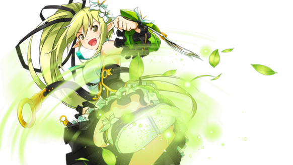 Rena Gives Up Her Bow And Strats Utilizing Powerful Kicks Using All Of Elf Magic In She Becomes The Master Combat Wind Sneaker