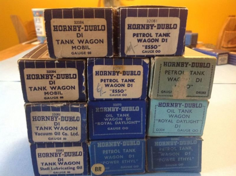 Complete Boxed Set of Tank Wagons