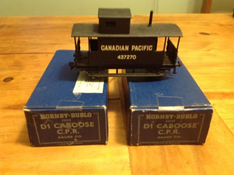 32049 -  D1 Canadian Pacific Caboose