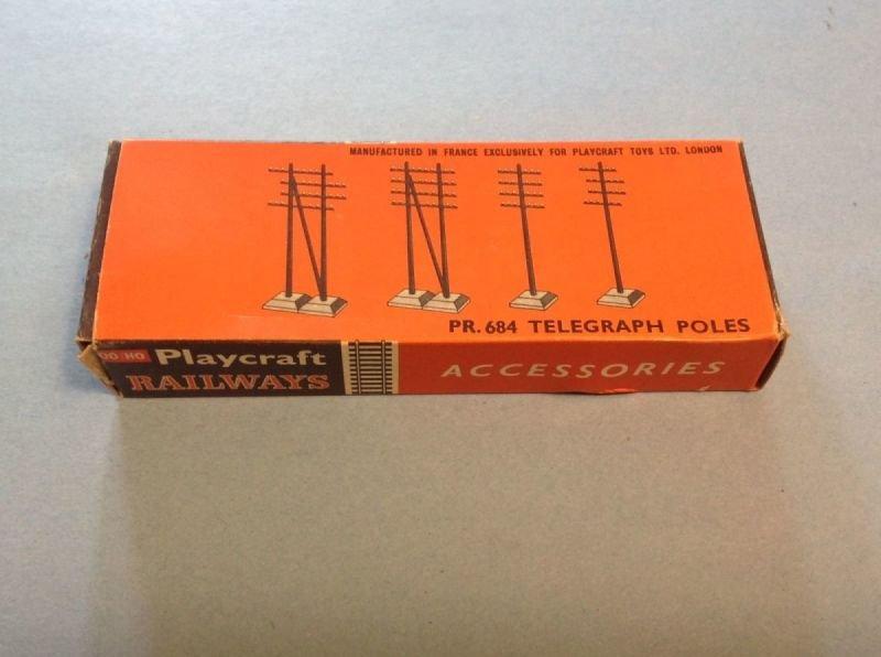 Playcraft Railways PR 684  Telegraph Poles