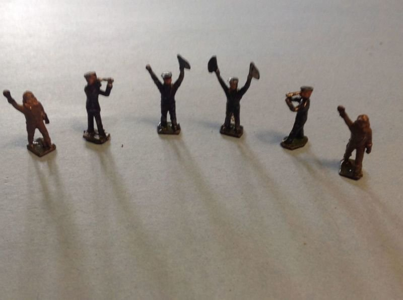 Lead Aircrew figures  1""