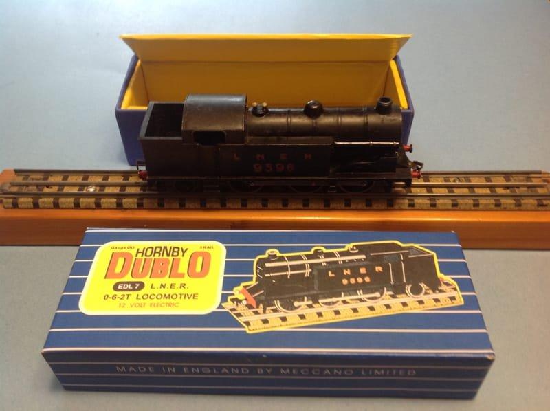 EDL7  0-6-2 Tank Loco LNER No.9596