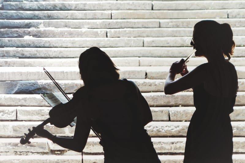 Musik zusammen geniessen