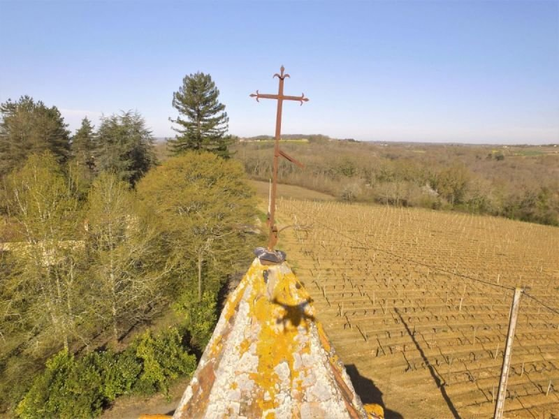 Contrôle de l'état d'un clocher d'église