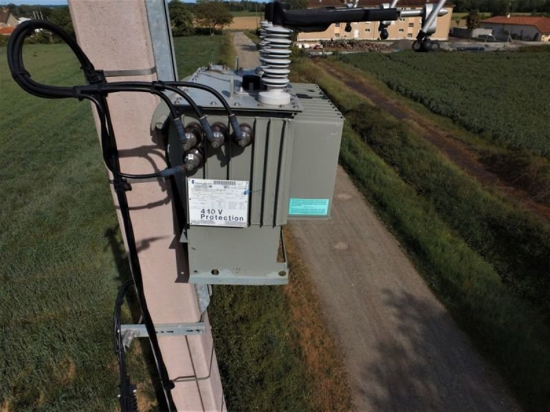 Surveillance d'un transformateur sur pilone EDF (scénario S3).