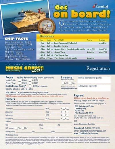 GSG Cruise 2020