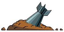 90번째 달님 - 폭격 후 아수라장