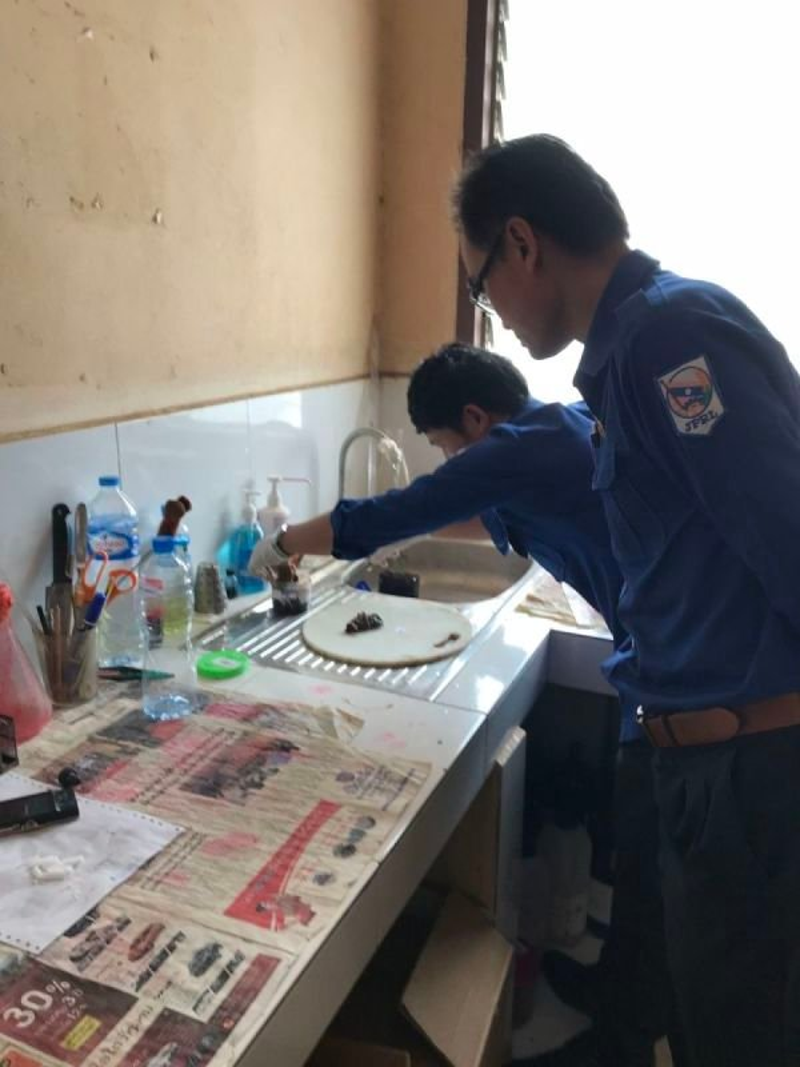 laboratoire d'antomopathologie (Hopital Setthatirath)