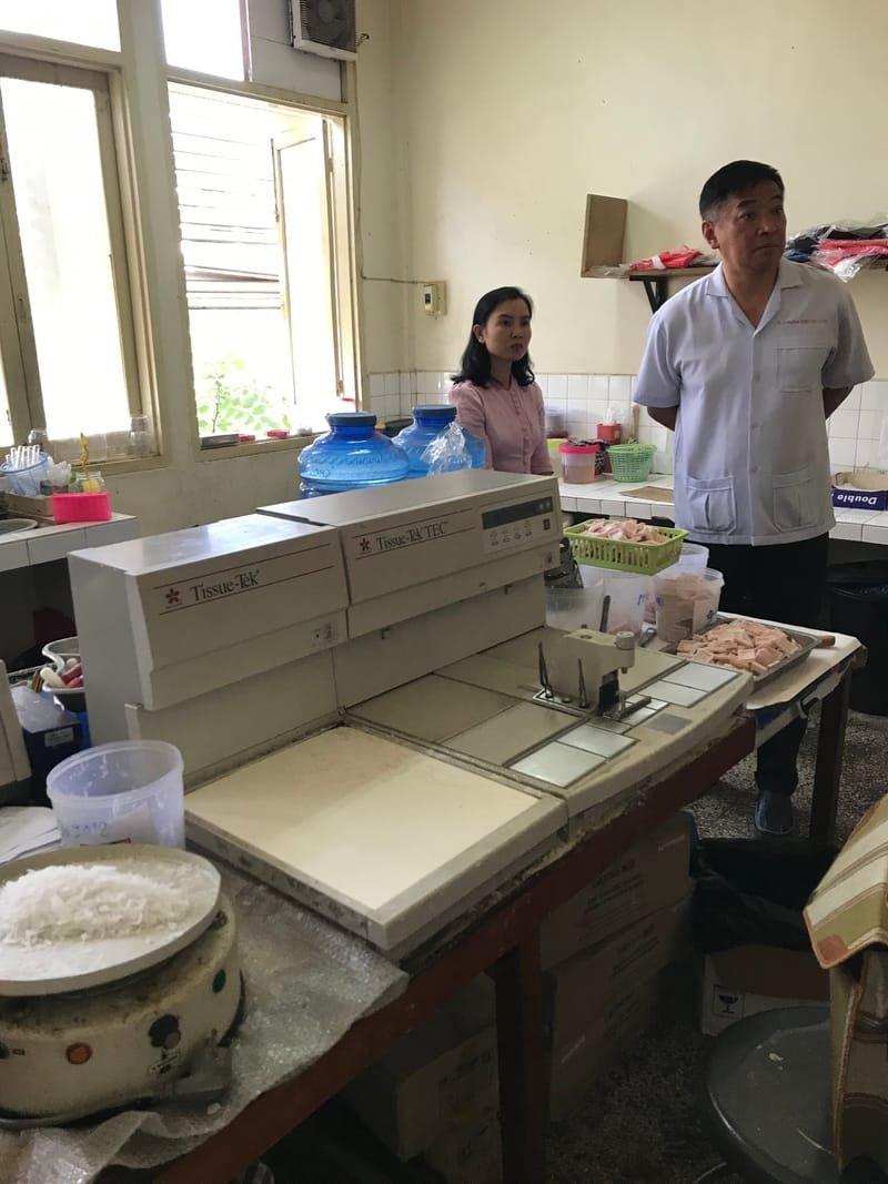 Laboratoire d'anatomopathologie de la Faculté de médecine de Vientiane