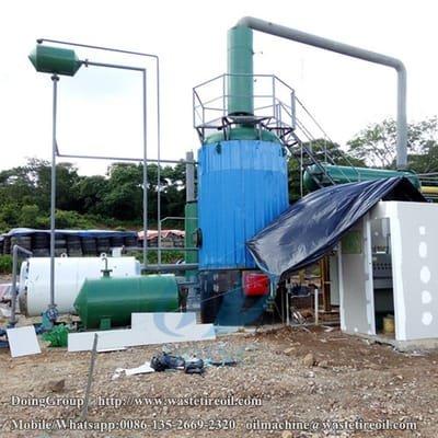 Blog #waste oil to diesel plant - Pyrolysis plant