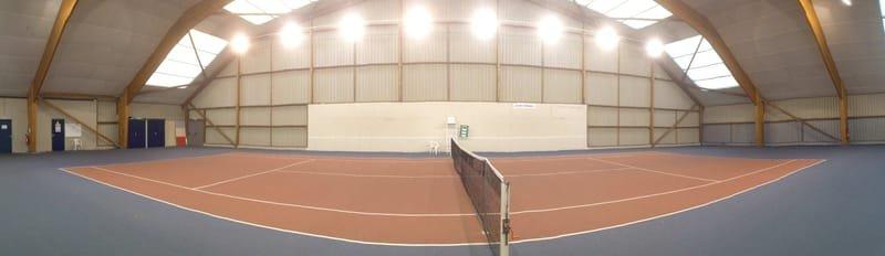 Court numéro 1 et mur d'entrainement