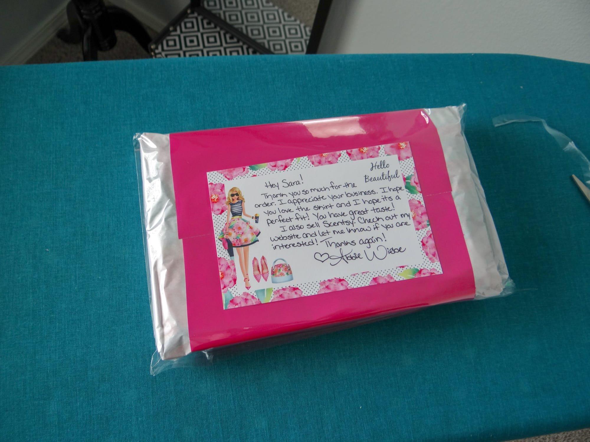 Packaging your Poshmark sale! - SharingMyInsight