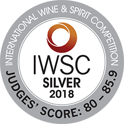 IWSC 2018 : CATEGORY GIN Silver Medal